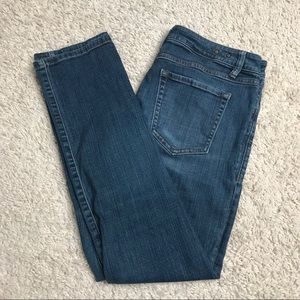 CAbi Jeans style 917 Medium Wash straight leg